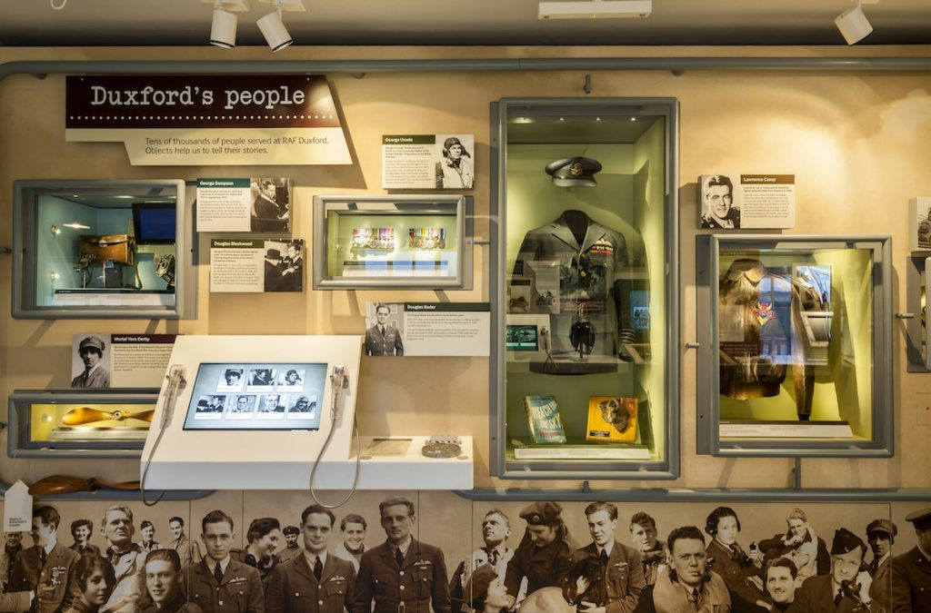 22.Duxford's People-Showcase Wall